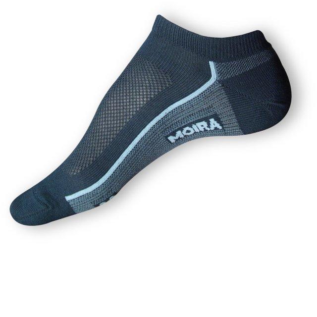 Krátké ponožky Moira černé
