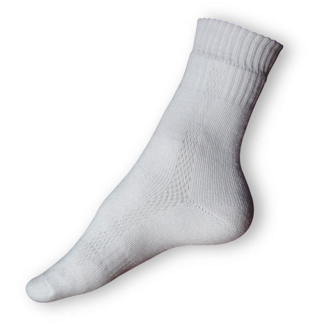 Zimní ponožky bílé
