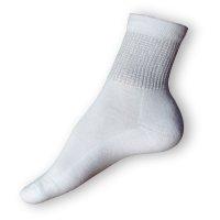 Zdravotní ponožky bílé teplé