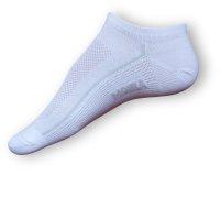 Krátké ponožky Moira bílé