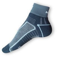 Cyklistické ponožky Moira černošedé