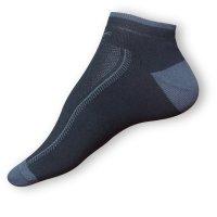 Kotníkové ponožky černé