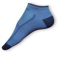 Kotníkové ponožky modré