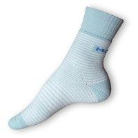 Komfortní ponožky Moira modrobílé
