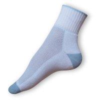 Sportovní ponožky bílomodré