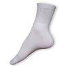 Zdravotní ponožky bílé