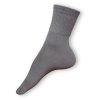 Zdravotní ponožky tmavošedé