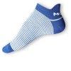 Kotníkové ponožky Moira modrobílé - zobrazit detail zboží